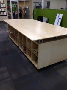 kallax and galant engineering layout table s ikea