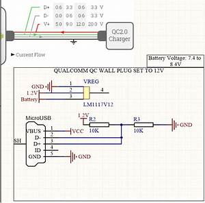 Usb Setting D D Ports To Set 12V From Qualcomm QC