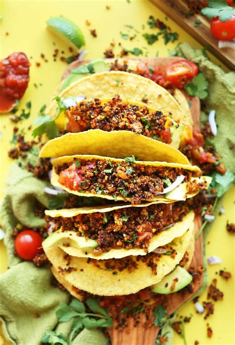 top  tasty taco recipes  vegans top inspired