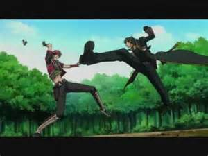 Action Supernatural Romance Anime