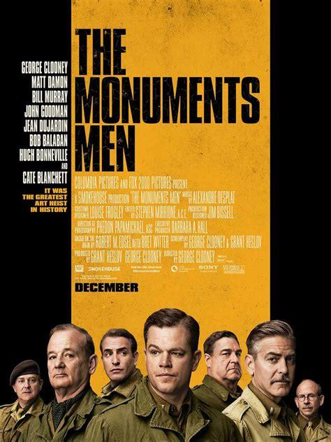 monuments men matt damon clooney bill murray