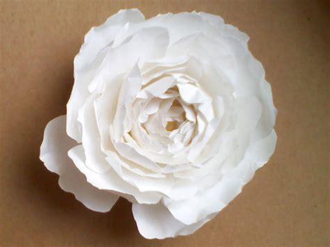 Easy Paper Flower Tutorial
