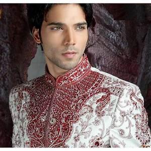 Tenue Blanche Homme : acheter tenue indienne homme mari rouge et blanc tenue indienne de mari ~ Melissatoandfro.com Idées de Décoration