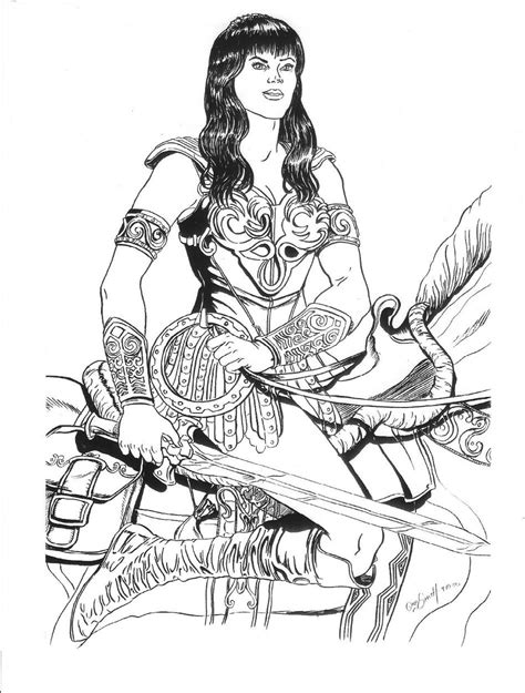 xena warrior princess tattoo google search coloring