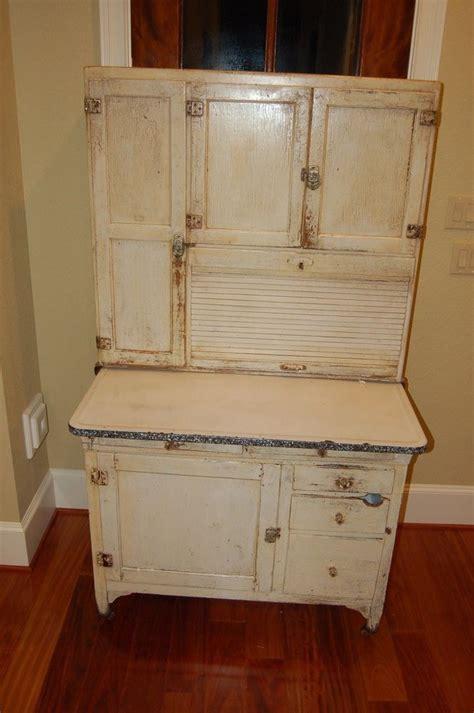 vintage hoosier kitchen cabinet antique original hoosier cabinet with ceramic top ebay 6809
