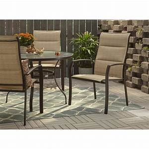 Hampton, Bay, Mix, And, Match, Stackable, Oversized, Metal, Outdoor, Dining, Chair, In, Cafe, Padded, Sling