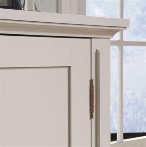 new grange 2 door accent storage cabinet cobblestone sauder accent storage cabinet cobblestone white or coffee oak