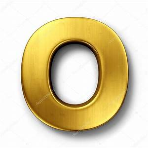 the letter o in gold stock photo c zentilia 8292988 With gold letter o