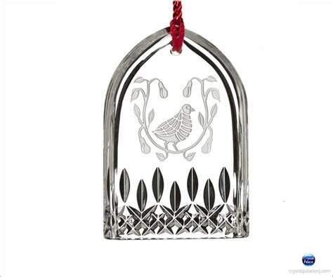 waterford 12 days of christmas lismore partridge ornament