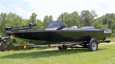 Bass Fishing Jet Boats by Riverpro Boats 186 Lopro Shallow Water Aluminum Bass