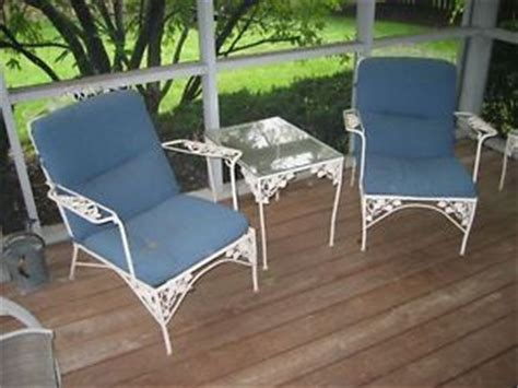 antique wrought iron patio furniture on popscreen