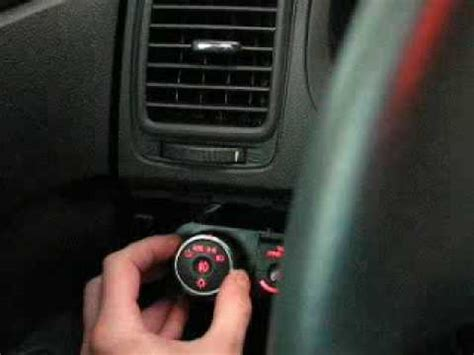 acadia modified headlight switch youtube