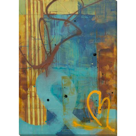 "Chocolate brown walls and a carpet aqua blue accessories. Teal Blue and Brown Rectangular Canvas Wall Art Decor 28"" x 20"" - Walmart.com"