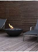 Red Ember Glacier Stone 60 In Gas Fire Pit Table With FREE Cover  BC628  C