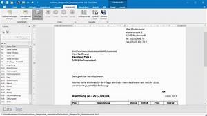 Kleingewerbe Rechnung : rechnung kleingewerbe anhand von word und excel vorlage als pdf erstellen youtube ~ Themetempest.com Abrechnung