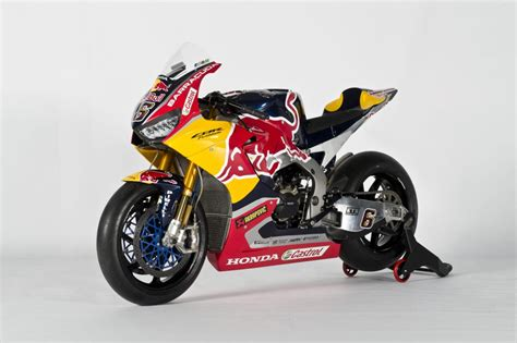 Red Bull Honda World Superbike Cbr1000rr Sp2 Unveiled