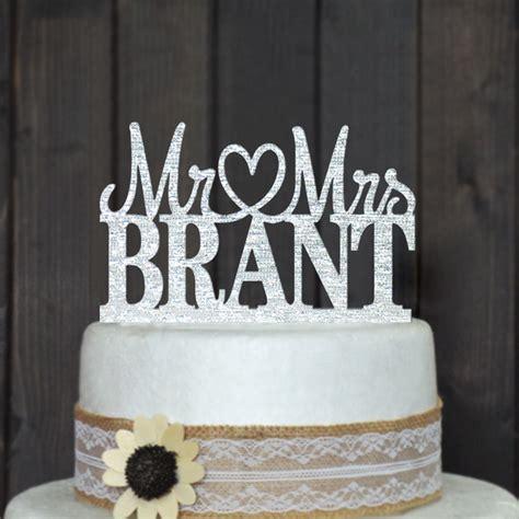 wedding cake topper with personalized aliexpress buy custom wedding cake topper
