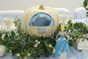 Pumpkin Coach Centerpiece by Pumpkin Coach Table Centerpiece Cinderella Party