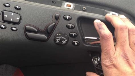 mercedes  class  door control module replacement