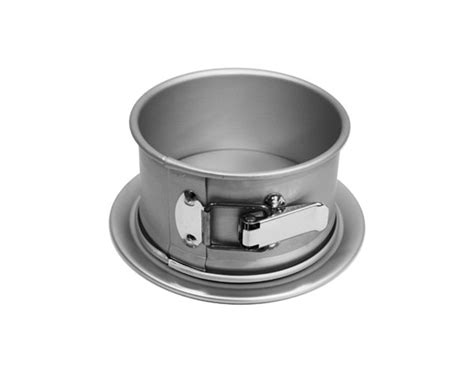 fat daddios anodized aluminum  springform pan  cutlery