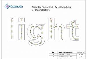 download mounting examples for led modules in channel With channel letter led lights