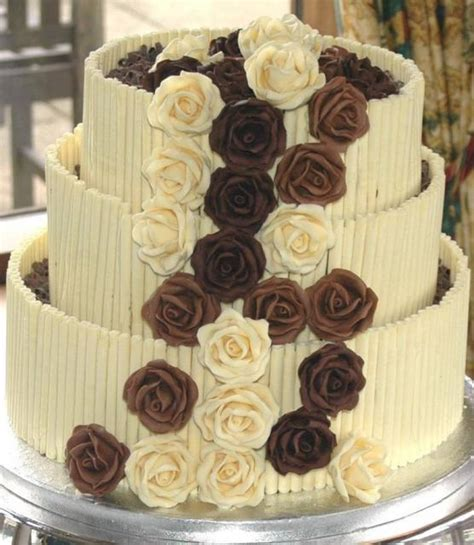 types  chocolate wedding cake   res p hd