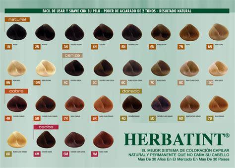 herbatint color chart mi tinte pelirrojo de herbatint