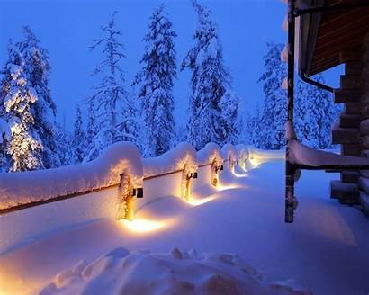 Winter Landscape Snow Wallpapers Scenery Landscapes Background