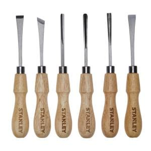 stanley wood carving set  piece stht  home depot