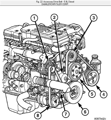 Need Diagram For Serpentine Belt Diesel