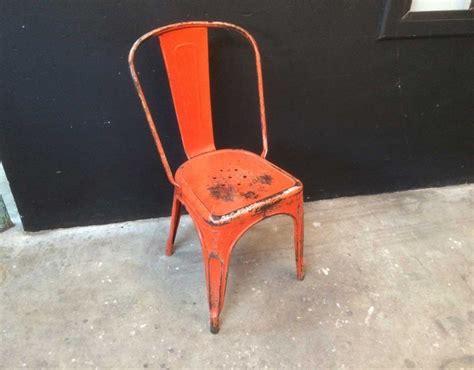 chaise tolix ancienne véritable tolix modèle a
