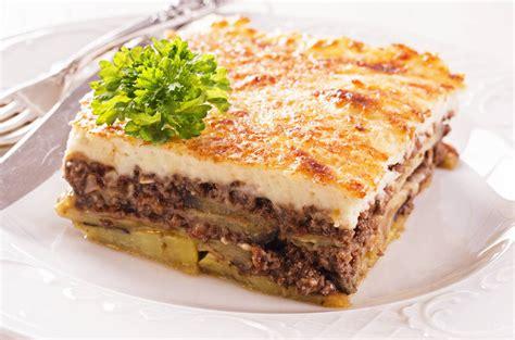 cuisine grecque traditionnelle moussaka cocina para fardar