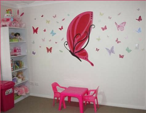 ideas  decorate girls room  butterflies shelterness