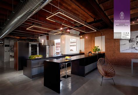 stylish dark kitchen design  industrial touches digsdigs