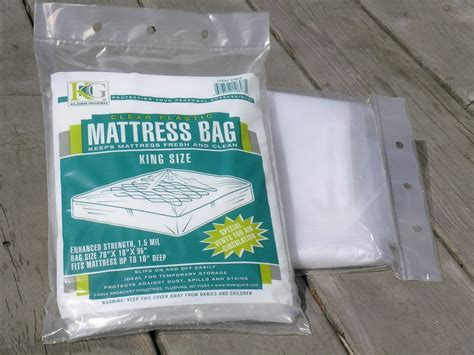 Plastic Mattress Bag. King Size. 2mil