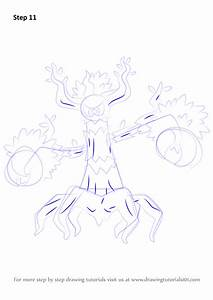 Learn How To Draw Trevenant From Pokemon  Pokemon  Step By