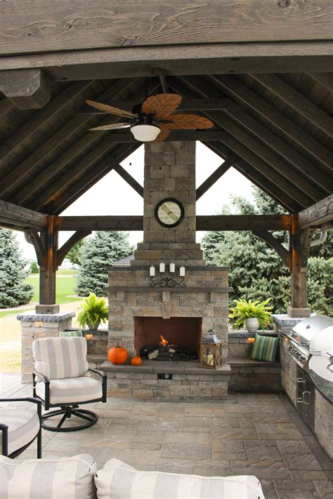 outdoor patio  pavilion