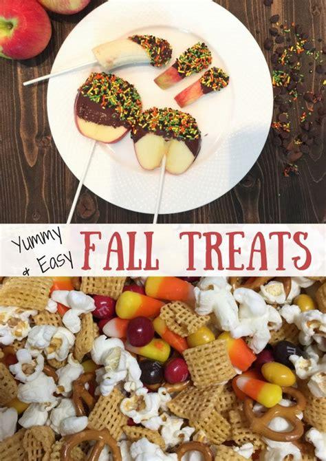 easy fall treats yummy easy fall treats the mommy spot ta bay
