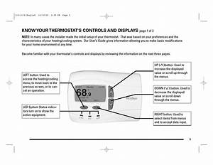 Know Your Thermostat U0026 39 S Controls And Displays