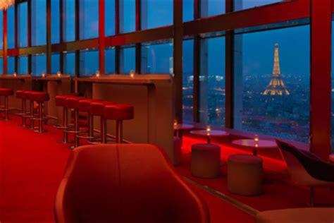 vetement de cuisine pas cher bar insolite lounge avec vue panoramique sur tout