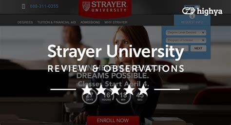 strayer university reviews   education choice