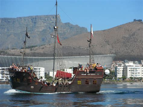 Party Boat Cape Town by Official Cape Town Pass Jolly Roger Pirate Ship