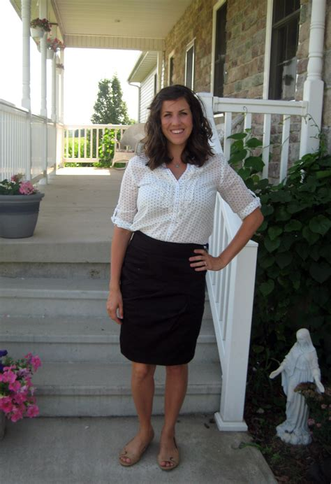What I Wore Real Mom Style Polka Dots Vol