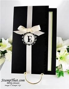 handmade wedding invitations ideas stampin39 up handmade With handmade wedding invitations stampin up