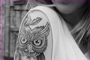 Tatouage Chouette Signification : tatouage hibou symbolique mod les et exemples ~ Melissatoandfro.com Idées de Décoration