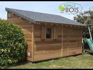 abris de jardin en bois youtube With fabriquer un cabanon de jardin