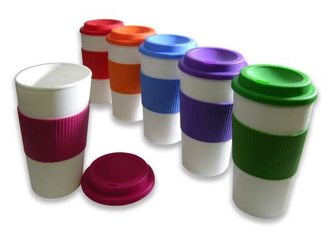 These cups are suitable for use at trade fair stands or for promotional campaigns. Set of 6 BPA-Free Reusable Travel Cups for $17.49 (reg. $59.99) | See Mom Click®