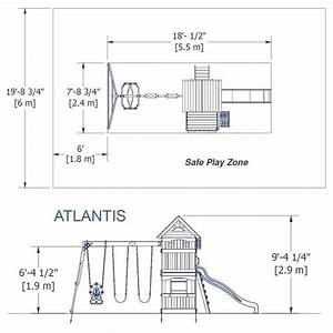 Atlantis Wooden Swing Set