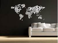 nice world map wall decals 17 Best images about World map sticker decor on Pinterest | Vinyls, Office wall decor and Vinyl ...