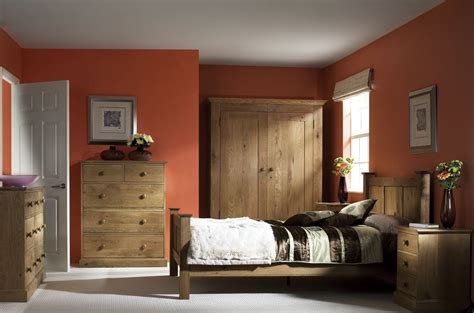 Bedroom Design Ideas With Oak Furniture by Country Oak Bedroom Furniture Corndell Furniture